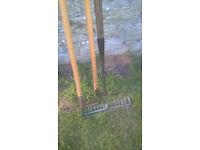 choice of 3 rakes