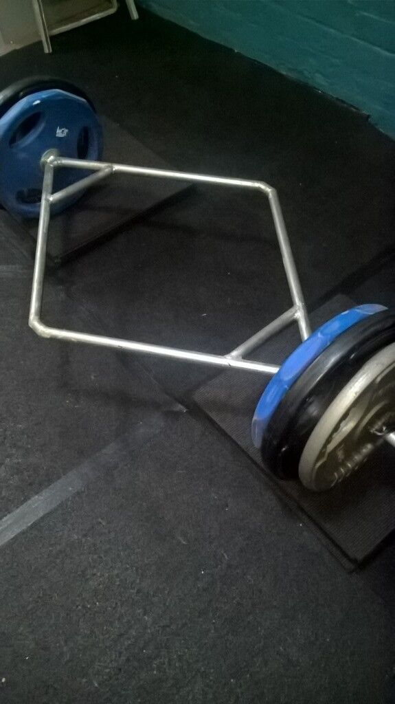 Deadlifting hex/trap bar + £100 kg weight plates | in Harrogate, North  Yorkshire | Gumtree