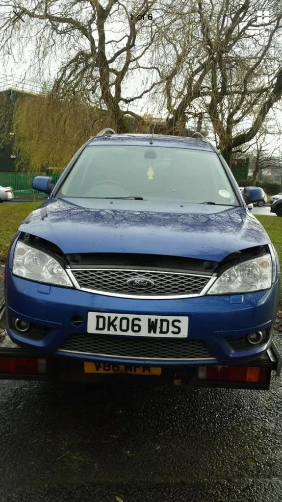 FORD MONDEO ST 2.2TDI ESTATE BLUE SPARES OR REPAIRS BREAKING