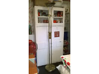 Original Vintage 1950s Kitchen Lader Unit