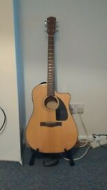 fender electro accoustic guitar