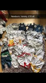 Baby clothes. Newborn and 0-3 months!!!