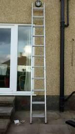 Aluminium Extension ladders 19ft