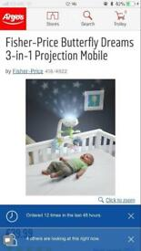 Fisher price light projector for babies - SOLD