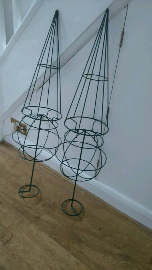 Pair of Ornamental Garden Topiary Frames. Never Used. | in Guildford ...
