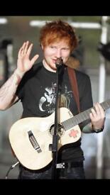 2 x Standing tickets for Ed Sheeran at Hampden Saturday 2nd June