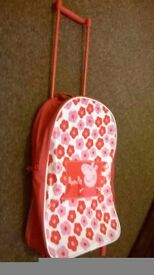 Childs Pepper Pig shopping trolley