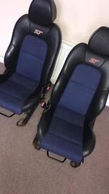 Fiesta ST seats
