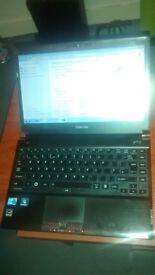 Tosiba untra thin laptop