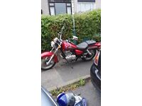 Suzuki marauder 125 nice looking bike for year. No mot hence the price