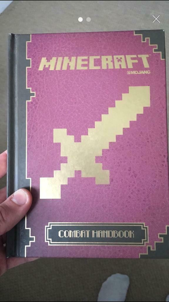 Minecraft combat handbook | in Strensall, North Yorkshire | Gumtree