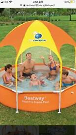 Best way 8ft pool with solar heater