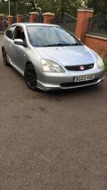 Honda Civic Ep3 Type R 03 Plate Mint