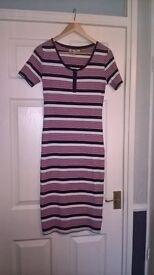Next striped tee shirt dress