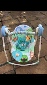 Bright starts baby swing chair