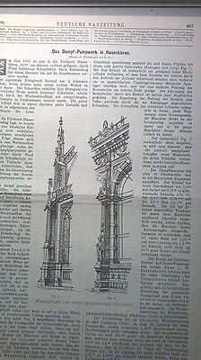 1882 80 Hasenbüren Dampfpumpwerk