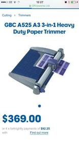 GBC A525 A3 3-in-1 Heavy Duty Paper Trimmer