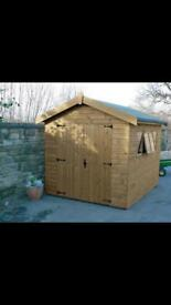 Garden Shed, Ex-Display Can Deliver Free Of Charge!