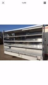 10ft Low Fronted Troy Capital Cooling Display Fridge Chiller Dairy Meat Drinks