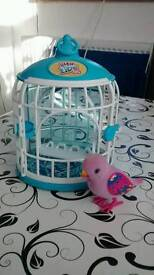 Little Live Pets Bird and Cage