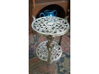 Brass Cake Plant Stand