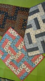 NEW - Baby Cot or Buggy Quilt / Throw