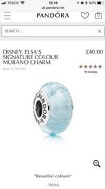 Pandora Murano glass - Signature Disney bead