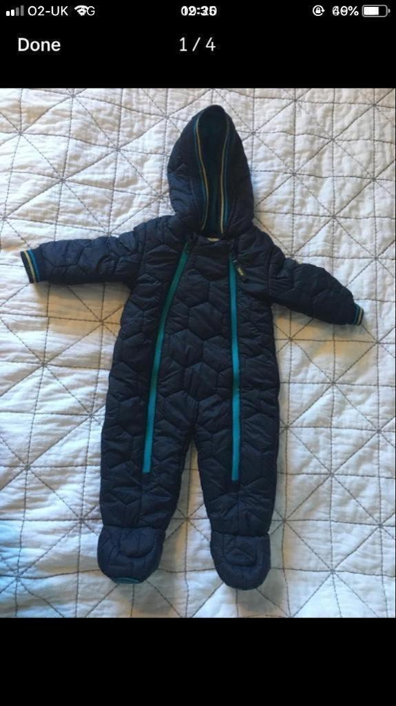 a0190fb90 Ted Baker baby boy snow suit all in one