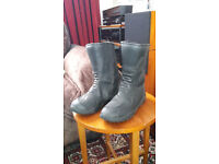 Diora Motorcycle Lady's Boots size 6