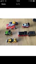 Thomas the tank engine diecast trains