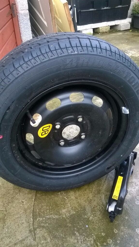 ford fiesta new spare saver wheel and jack for sale 50 pound