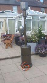 NEW = 12kW Freestanding Powder Coated Steel Gas Patio Heater in Bronze £30 Dumfries