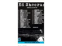 Face Value 2 x Ed Sheeran tickets for sale, Dublin Friday 18th of May