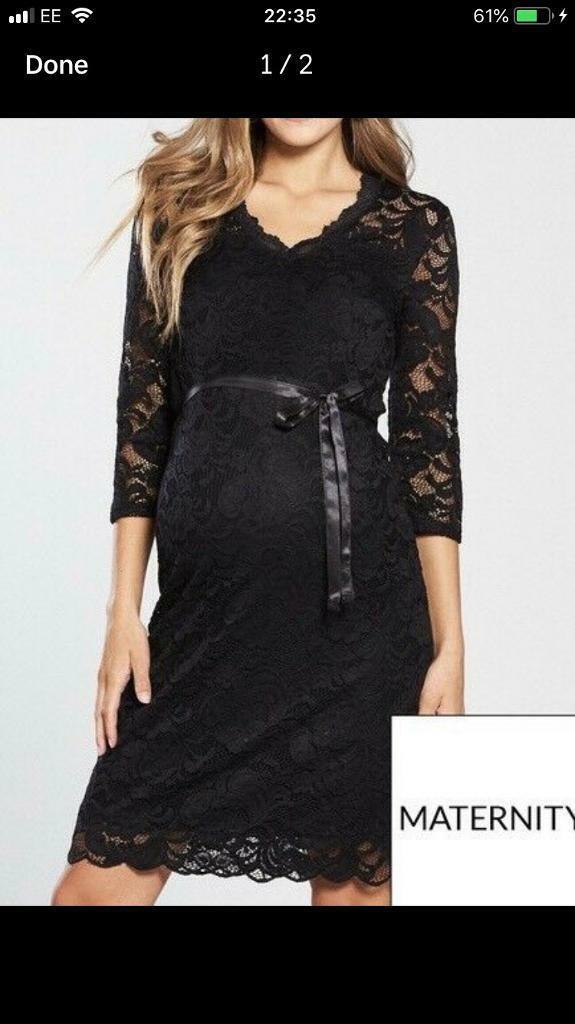 701cb7b4e9 Mamalicious Maternity Lace Dress