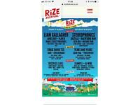 Rize festival tickets