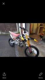 160 cc Welsh pitbike