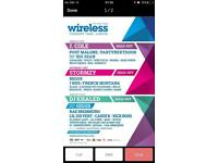 Wireless Tickets 2018 £60