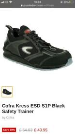 Cofra S1P Safety Trainers - Size 6