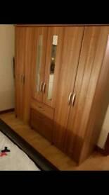 Starplan wardrobes and bedside tables