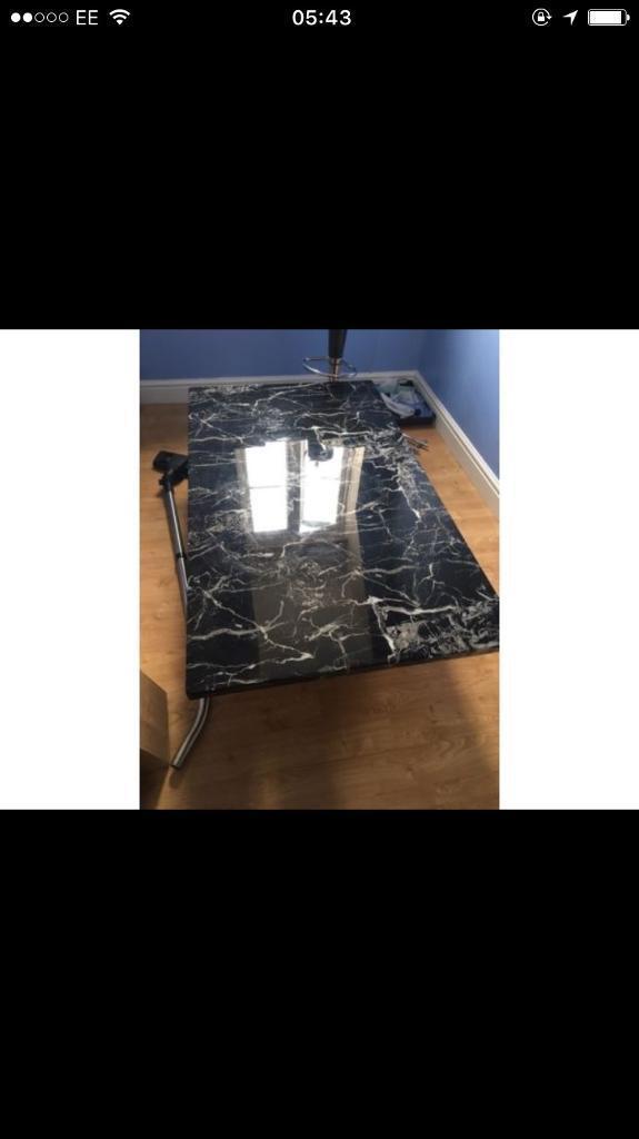 dfs venus marble coffee table   in bury st edmunds, suffolk   gumtree