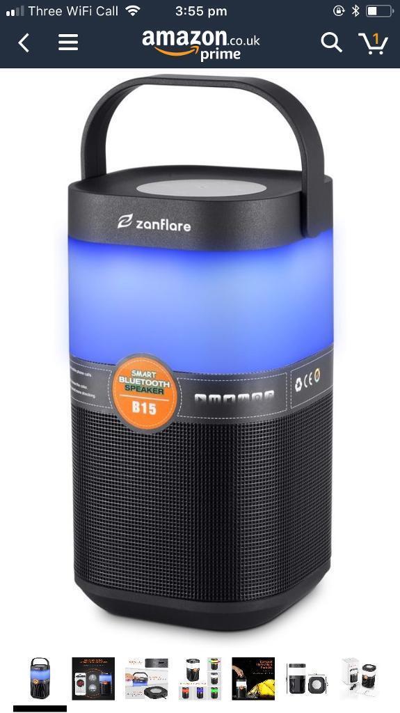 Bluetooth Speaker Nightlight