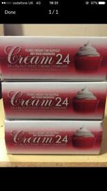 Whip cream canisters