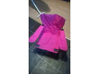 pink childrens camping chair