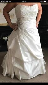New Ivory Wedding Dress for a short lady!