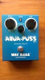 Way Huge Aqua Puss Delay Pedal