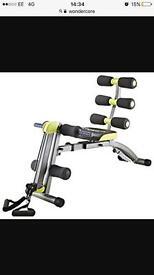 Wonder core exercise bench
