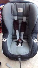 Britax eclipse car seat 9kg-18kg black/grey