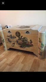 Antique china chest