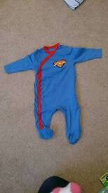Superbaby all in one and vest (see pics) 0-3 months