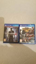 Uncharted 4 + Infamous Second Son